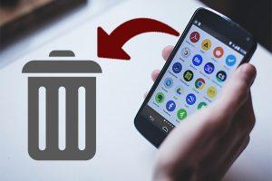 удаление мобильных приложений